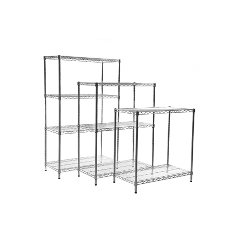 Chrome Wire Shelving Units