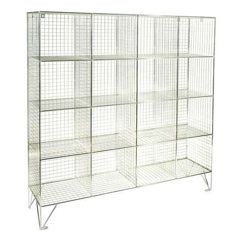 Mesh Multi Compartment Lockers